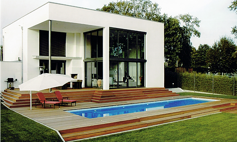 Haus mit pool deutschland  Private Freibäder Medium | Pool-Magazin