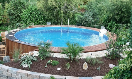 Intex pool verkleiden frame pool set graphit 478 x 124 cm for Poolumrandung aufstellpool