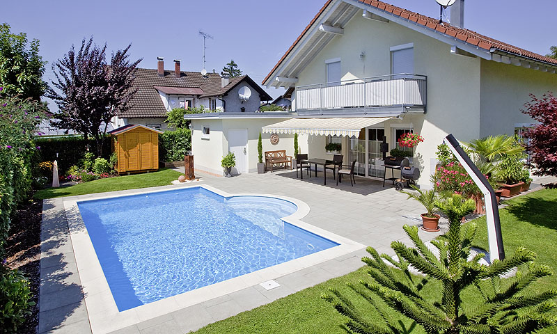 Private badelandschaften standard pool magazin - Pool am haus ...