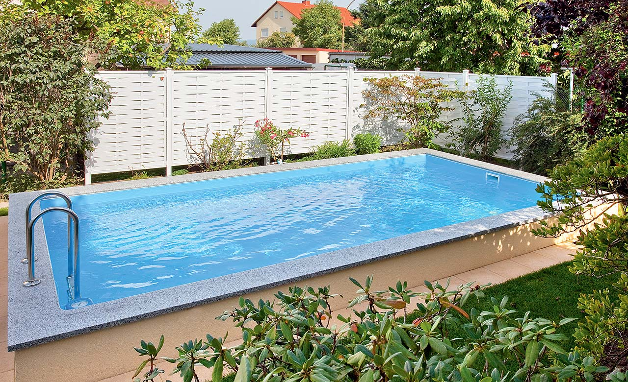 Private badelandschaften standard pool magazin for Badepools garten