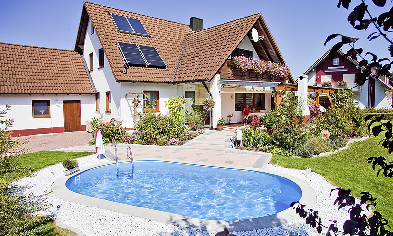 Private badelandschaften standard pool magazin - Poolhaus deutschland ...