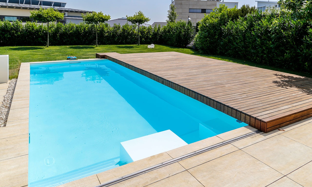 In Ground Pool Ideas Pool Mit Schiebedach Pool Magazin