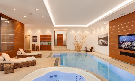Private Wellness-Anlage
